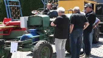 Oldtimer-Traktorentreffen in Oberhof