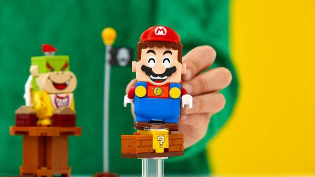 Lego hat den Videospielklassiker Super Mario als analoges Spiel umgesetzt.