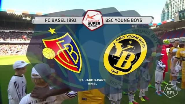 FC Basel - YB, 1:1, 09.04.2017