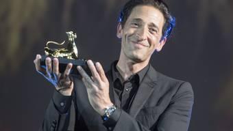 Nahm am 70. Filmfestival in Locarno einen Ehrenpreis entgegen: US-Schauspieler und Ausnahmetalent Adrien Brody.