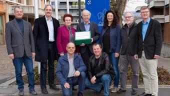 Die Komiteemitglieder von links nach rechts: Walter Jucker, Pascal Leuchtmann, Beat Rüst, Henry Jager, Songül Viridén, Jean-Claude Perrin und Andreas Kriesi.