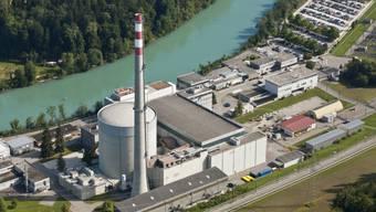 Nur noch drei Monate in Betrieb: Das AKW Mühleberg. (Archivbild)