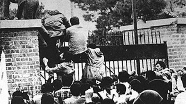Stürmung der US-Botschaft im Iran am 4. November 1979: Die Besetzung der Botschaft nahm ihre Anfänge (Symbolbild)