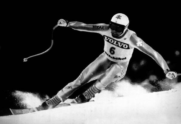 1991 in Saalbach-Hinterglemm: Franz Heinzer (Abfahrt)