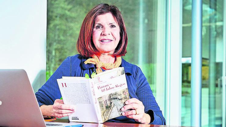 Im Dezember stellte Hélène Vuille noch ihr neues Buch vor, nun kann sie bereits auf ihren nächsten Erfolg zurückblicken.