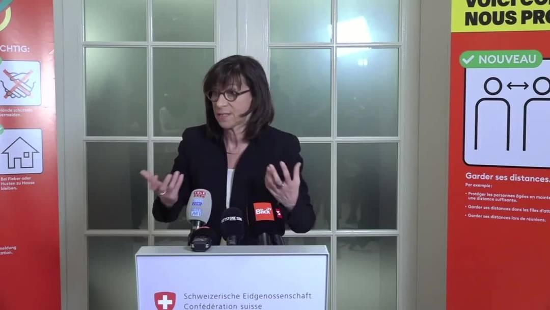 4.3.2020: Kantone erhalten Richtlinien für Umgang mit Veranstaltungen