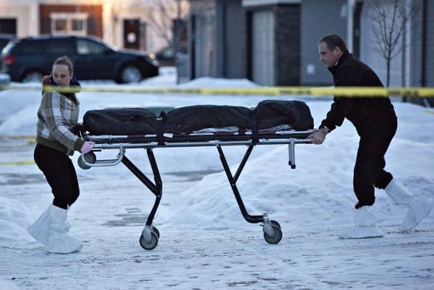 In Kanada hat ein Mann acht Menschen erschossen und sich anschliessend selbst umgebracht.