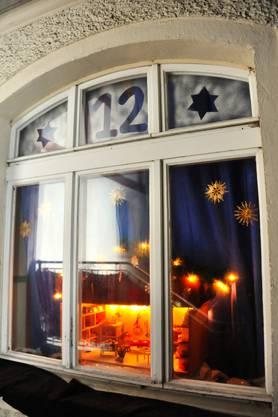 Halbzeit: Der Weisse Wind eröffnete sein Adventsfenster am 12. Dezember. Nun macht er Winterpause.