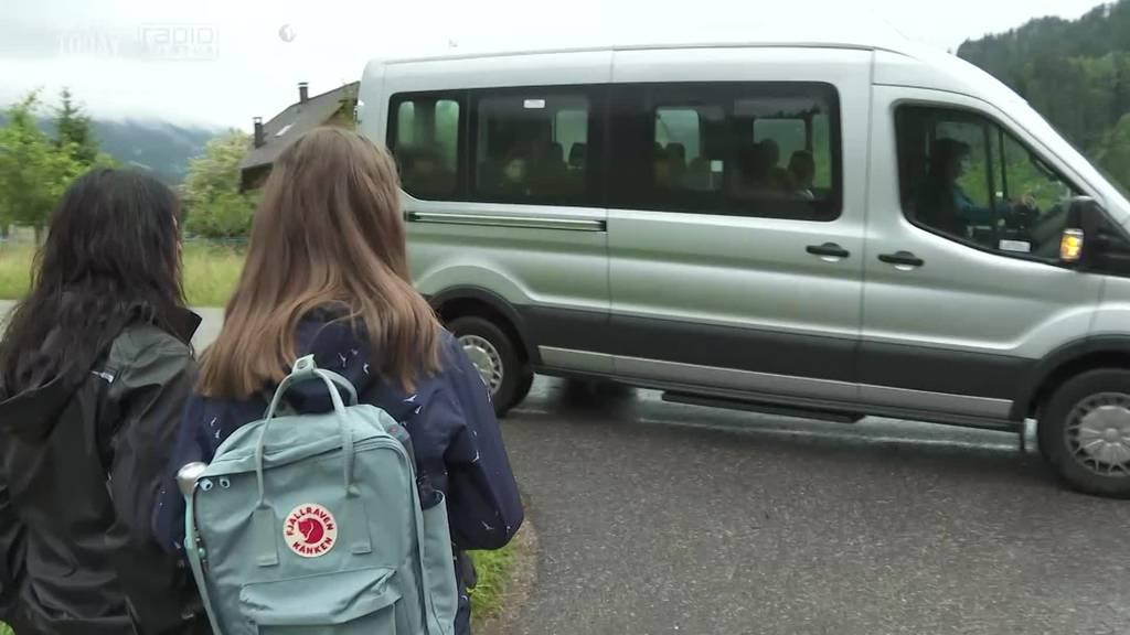 In Marbach fährt der «Trudy-Bus» zum letzten Mal