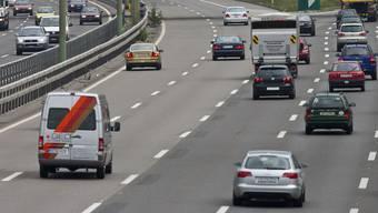 Die Autobahn A1.