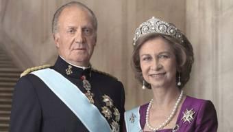 Das spanische Königspaar (Archiv)
