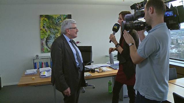 «Die Privat-Audienz im Vatikan vergesse ich nicht so schnell»: Roland Brogli blickt zurück – und in seine Zukunft als Pensionär.