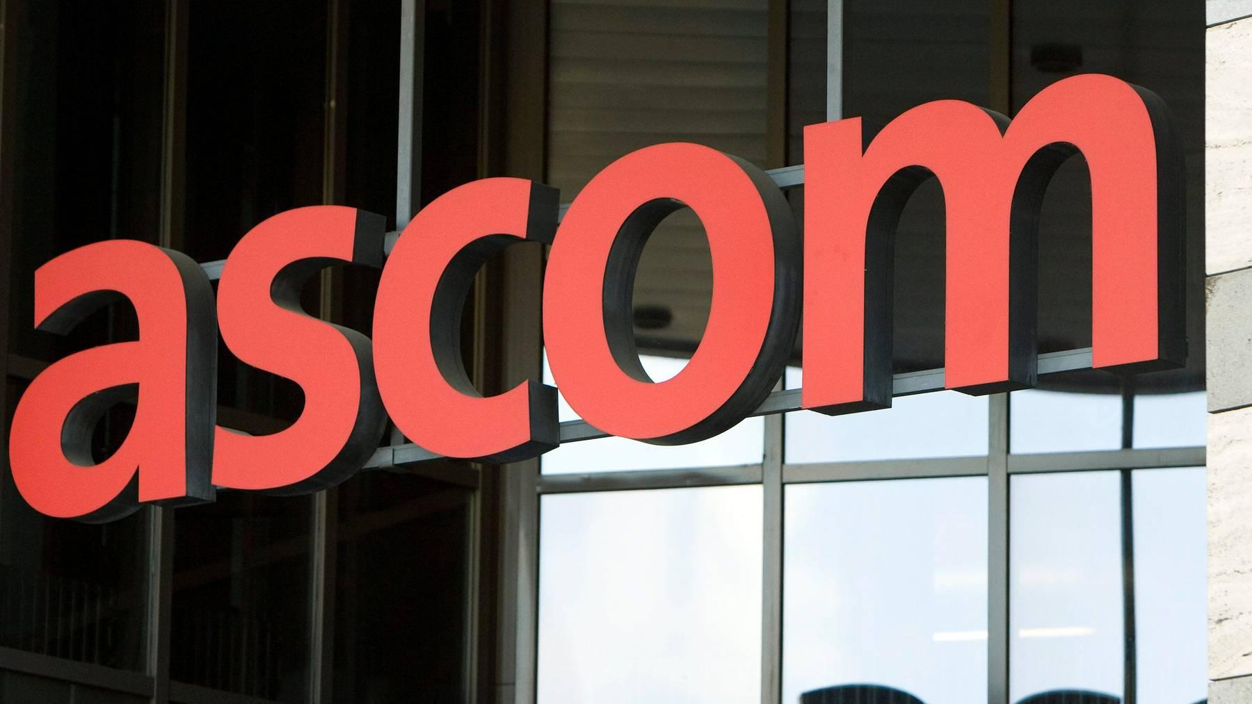 Ascom konnte sich im ersten Halbjahr einige Aufträge sichern.