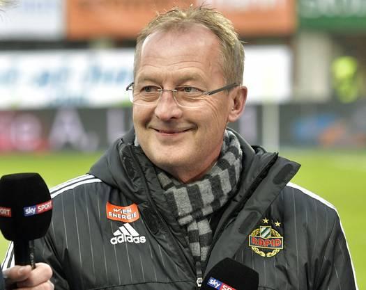 Seit Winter ist Fredy Bickel Sportchef bei Rapid Wien.
