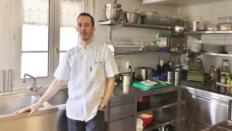 Im Herbst wird Roger Klaus die Küche gegen die Polizeischule tauschen.