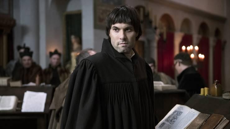 Szene aus dem Film Zwingli.