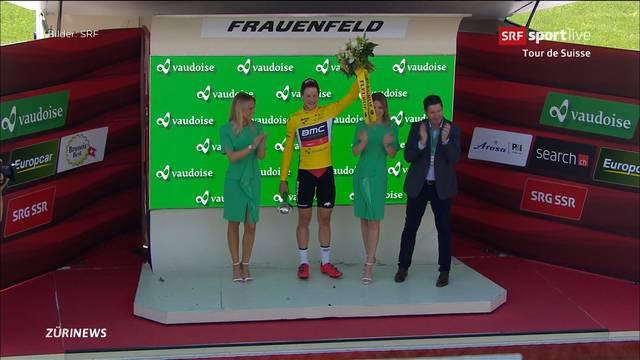 Tour de Suisse: BMC-Team gewinnt mit 20 Sekunden Vorsprung