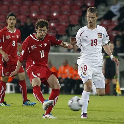 Admir Mehmedi trifft in der Verlängerung zum 1:0-Siegtreffer