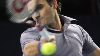 Auf Roger Federer wartet im Achtelfinal der Tscheche Radek Stepanek