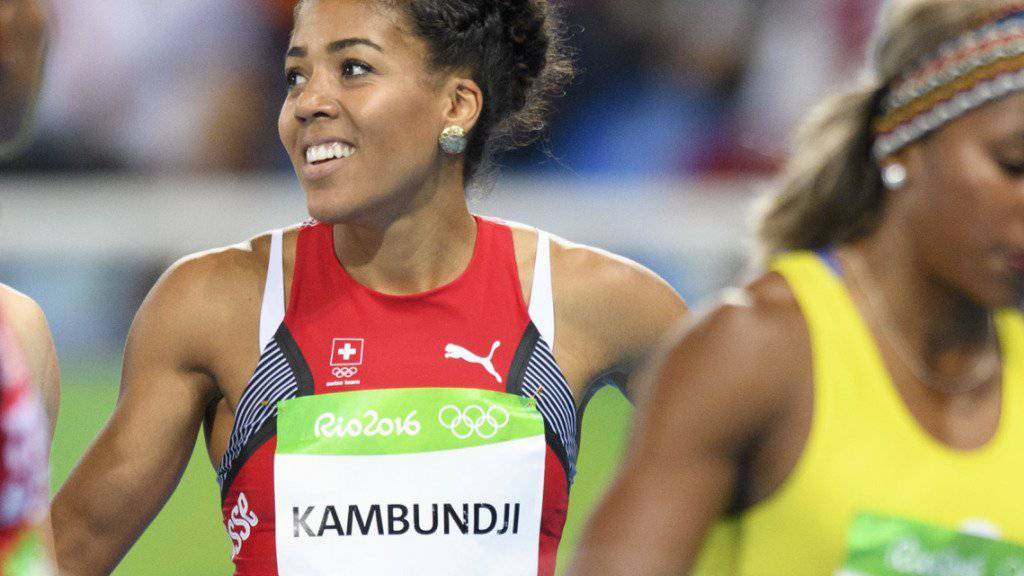 Mujinga Kambundji hat allen Grund zum Lachen