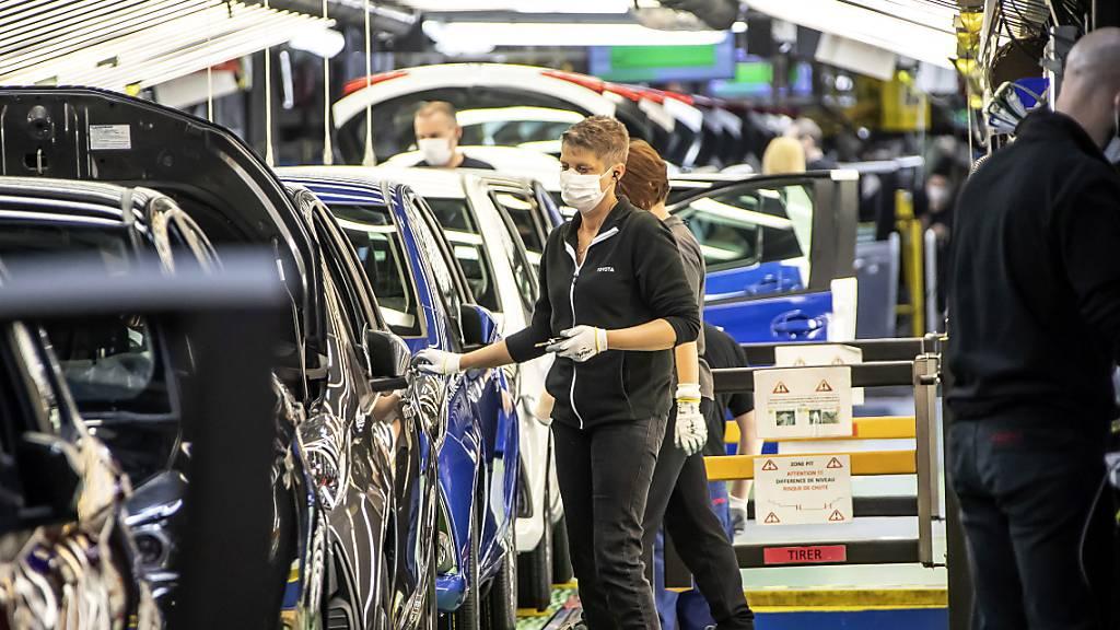 Toyota stoppt Produktion in Frankreich und Grossbritannien
