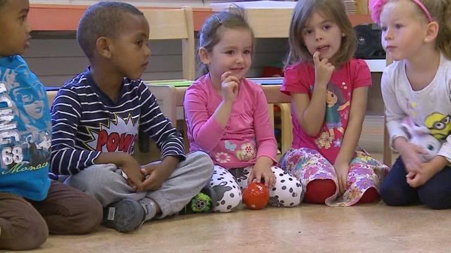 Nur 1 Schweizer Kind in Suhrer Kindergarten