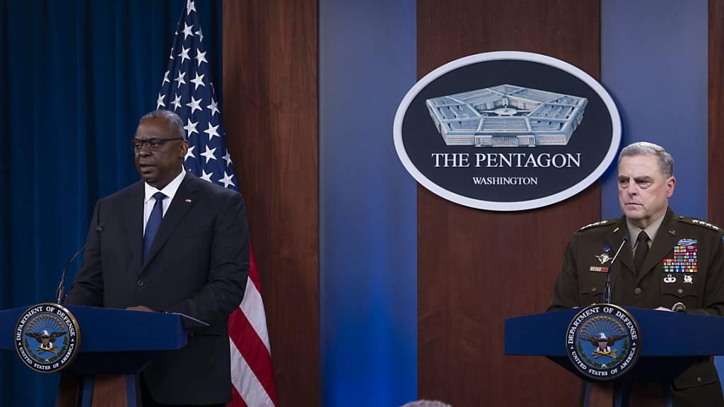 US-Militär: In Afghanistan droht Bürgerkrieg