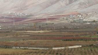 Sicht auf das Bekaa-Tal im Osten des Libanon (Symbolbild)