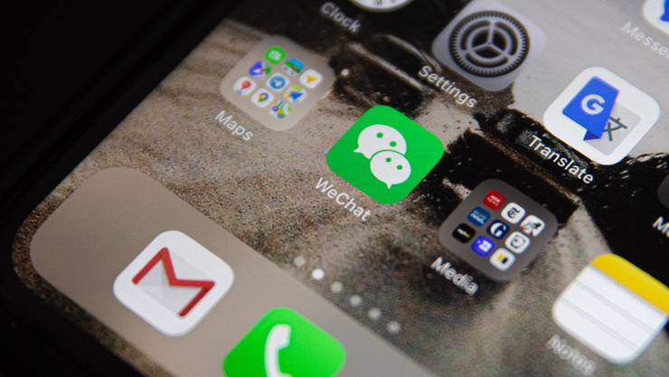Im Leben vieler Chinesen ist die App Wechat allgegenwärtig.