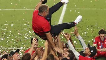 Hansi Flick muss seine perfekte erste Saison als Cheftrainer mit Bayern München bestätigen