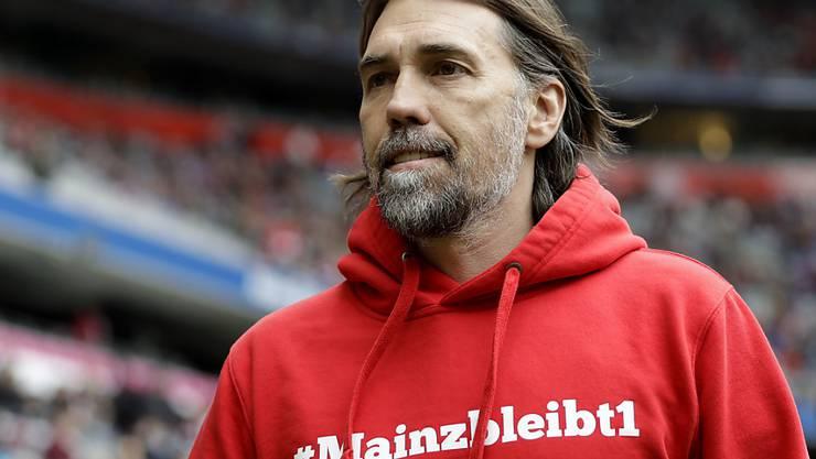 Der Vertrag von Martin Schmidt wurde in Mainz nicht mehr verlängert