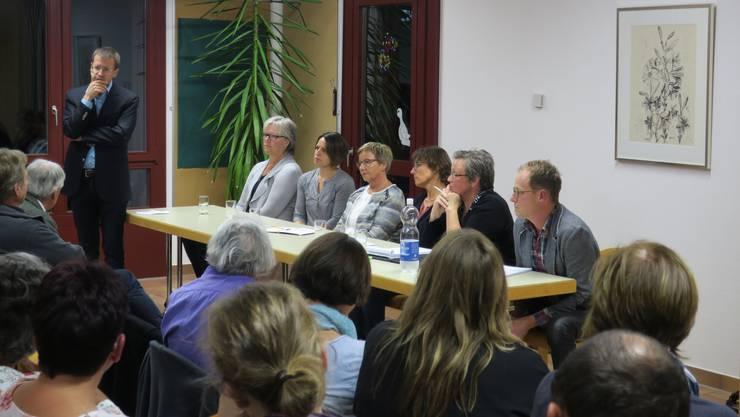 Die Infoveranstaltung in Kirchleerau am Dienstagabend war sehr gut besucht.