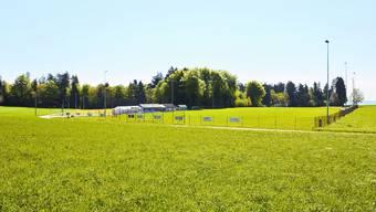 Fussballplatz Lommiswil: Auf dem leicht ansteigenden Fussballacker der Lommiswiler wurde es mit der Härte beim Spiel zwischen den zweiten Mannschaften des Platzklubs und Gast Grenchen übertrieben. Es kam nach dem Spiel zu einer wüsten Schlägerei. Oliver Menge