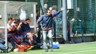 Marco Cecere ist ein impulsiver Mensch – auch an der Seitenlinie beim FC Reinach.