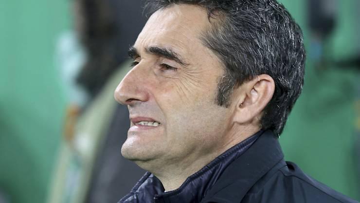 Ernesto Valverde tritt in Barcelona die Nachfolge von Luis Enrique an