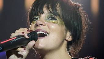 Die britische Sängerin Lily Allen (Archiv)