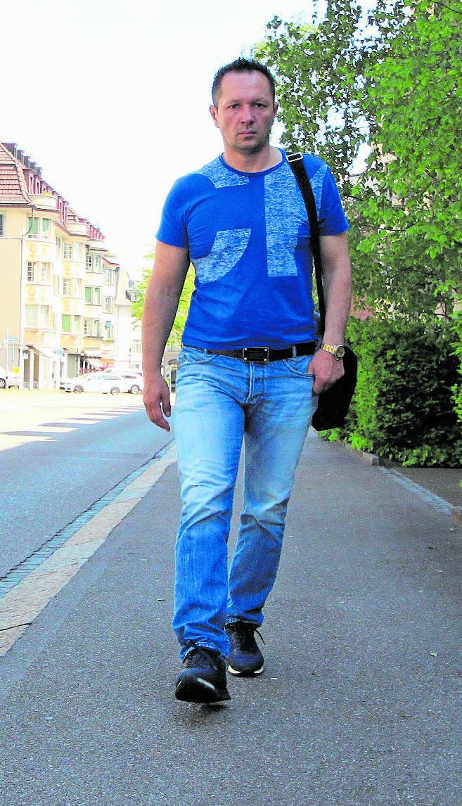 Nun wieder in Freiheit: Damir Kocan.