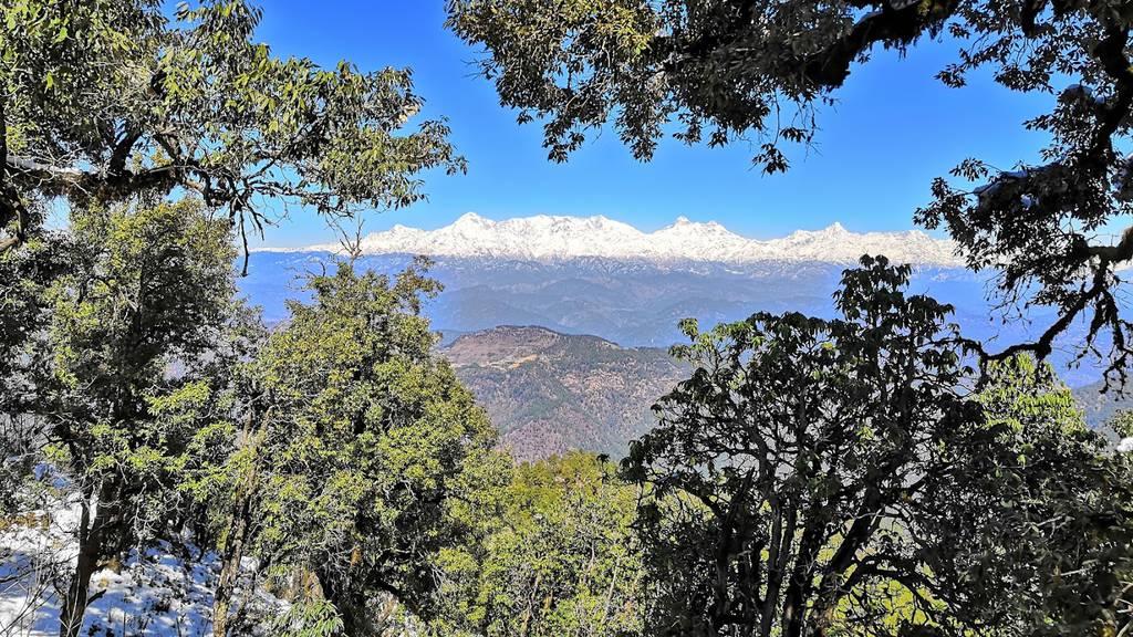 Timeout im Himalaya-Gebirge