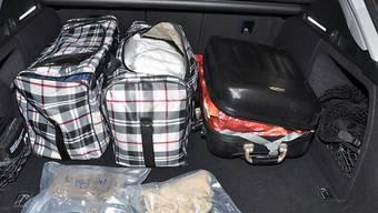 Mithilfe eines Spürhundes entdeckte das Grenzwachtkorps in Kreuzlingen Drogen im Wert von mehreren Millionen Franken.