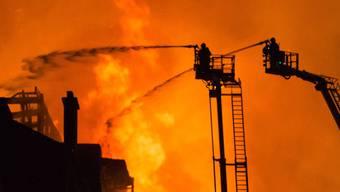Brand in Kunstakademie von Glasgow