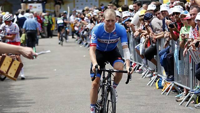 Andrew Talansky musste an der Tour de France aufgeben