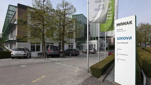 Sitz der Sonova-Holding in Stäfa (Archiv)