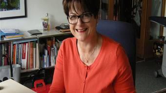 Priska Stalder ist seit fast zwei Jahren «höchste Freiwilligen-Arbeiterin». Sie ist Präsidentin des Dachverbandes SGF. frb