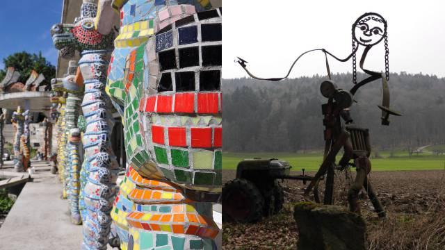 Die Künstler Weber und Alt spalten das Limmattal