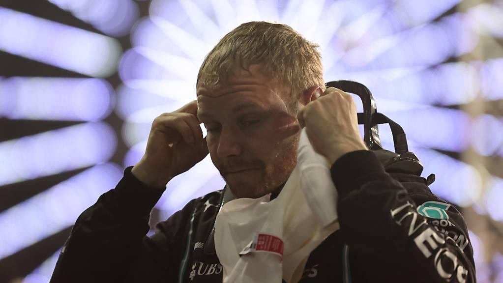 Valtteri Bottas war im ersten Training knapp vor Max Verstappen der Schnellste