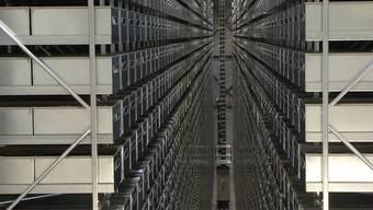 Das Luzerner Projekt orientiert sich am Aussenlager der Norwegischen Nationalbibliothek in Mo i Rana.