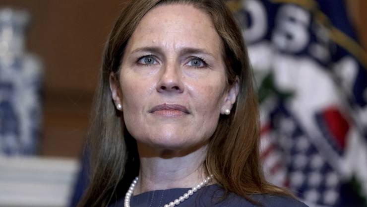 Amy Coney Barrett, Kandidatin für das Richteramt am Obersten Gericht der USA. Foto: Greg Nash/Pool The Hill/dpa