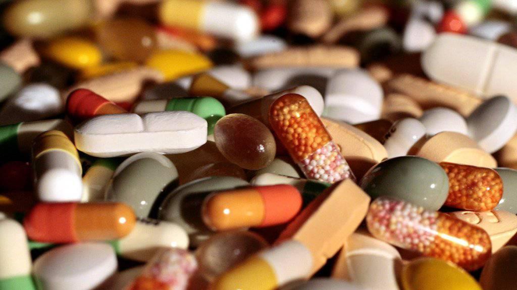 Die Preise im Schweizer Grosshandel sind im August gesunken - unter anderem aufgrund von günstigeren pharmazeutischen Produkten. (Symbolbild)