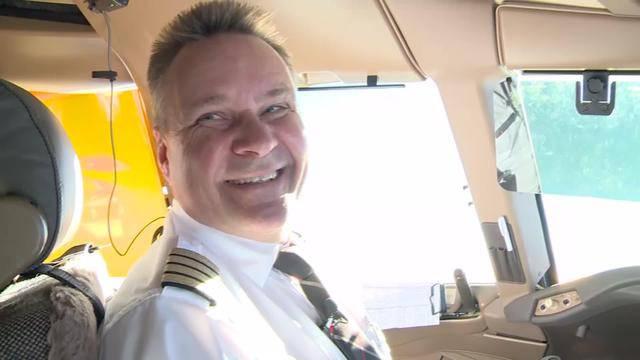 Im Cockpit mit dem Chefpiloten