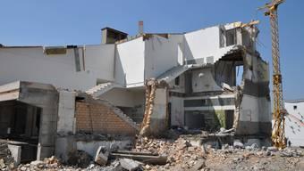 Werden Gebäude abgerissen, lassen sich die Baustoff zumindest teilweise wiederverwerten.